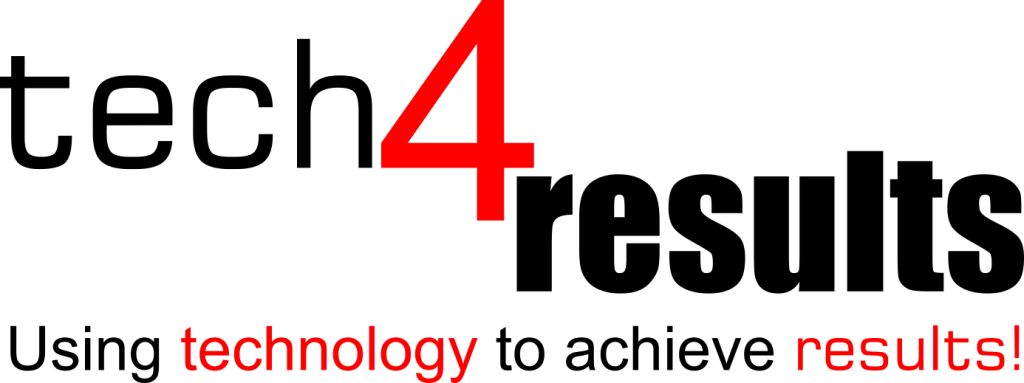 tech4results logo with tagline